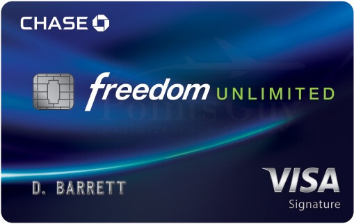 Chase Freedom Unlimited——所有1.5x【10/20更新:邮件offer 0开卡奖励】
