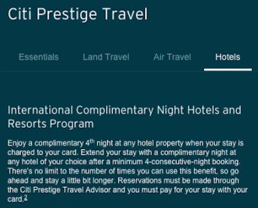 citi-prestige-card-hotel-benefit